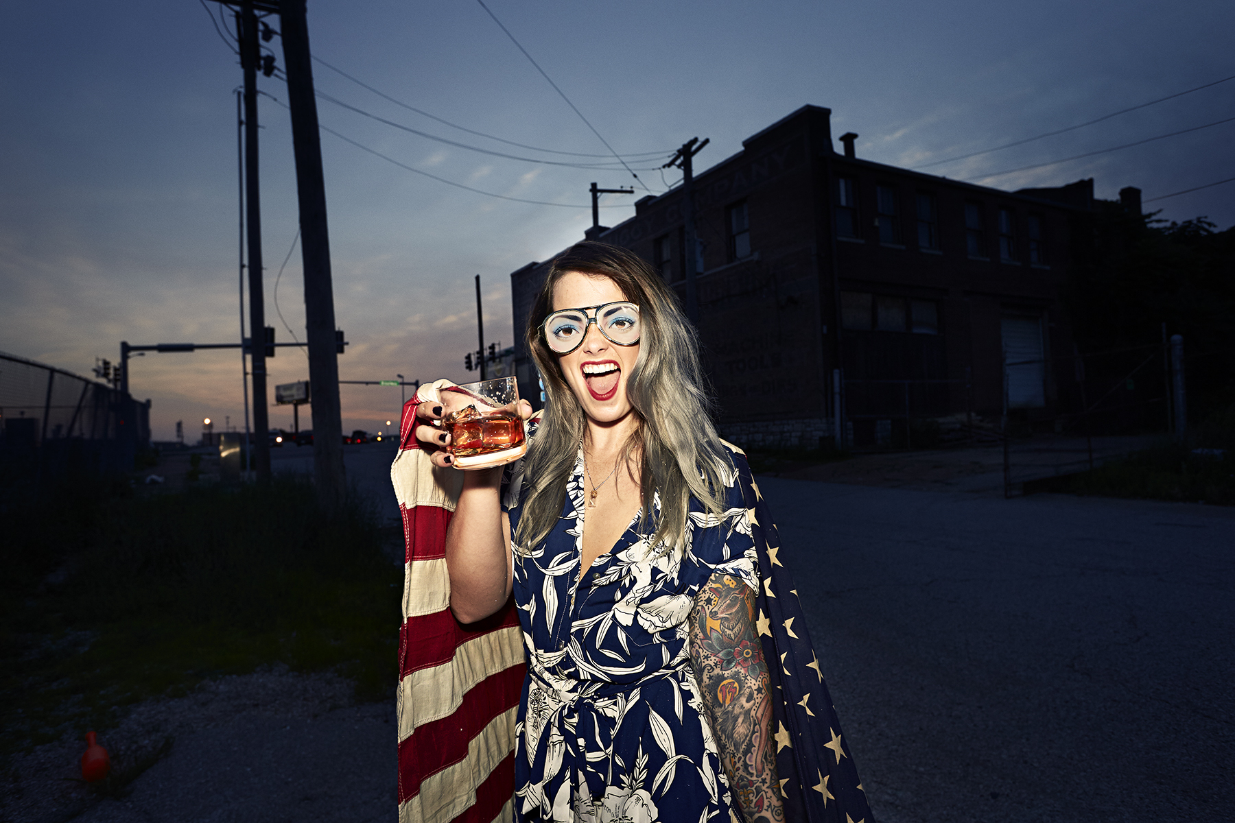 "BRIAN CUMMINGS STILLS  & MOTION - Rebel Yell Bourbon ""4th"""
