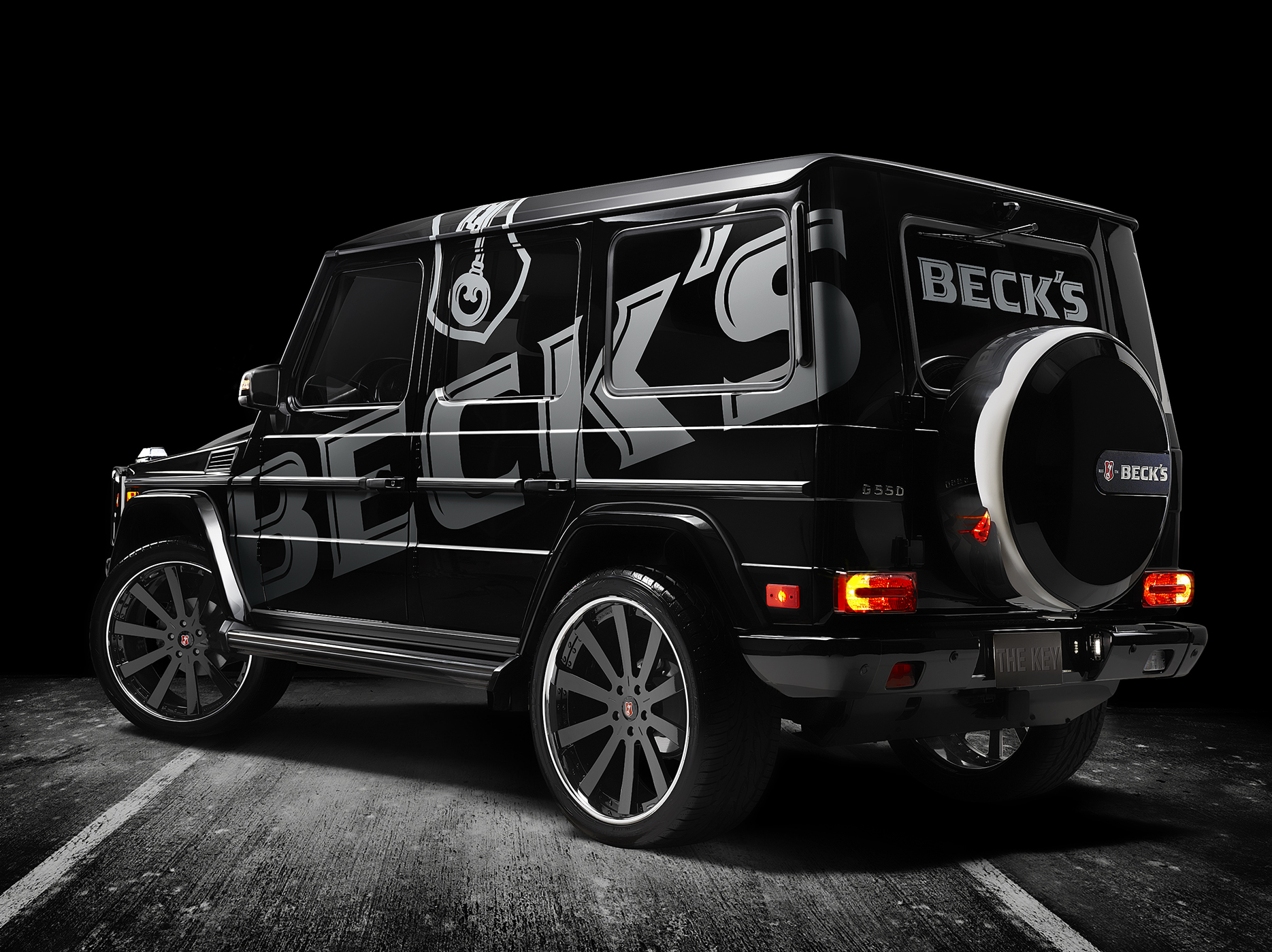 Becks Mercedes GWagon